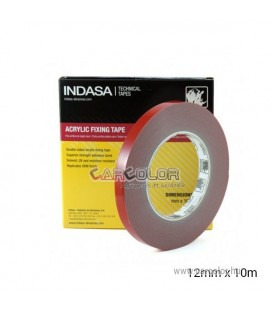 Indasa™ Acrylic Fixing Tape (12mm) - Double Sided