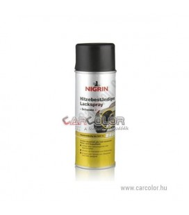 High Heat Resistant Black Spray Paint (600 C°)