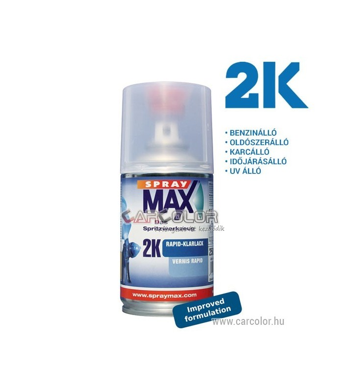 SprayMax Rapid TWO 2K Lacquer - Gloss (250ml)