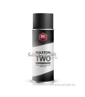 2K Fekete két-komponensű spray RAL9005 Jet Black - Fényes (400ml)