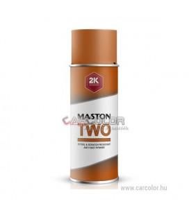 2K két-komponensű Rozsdagátló Alapozó Spray Piros - Matt (400ml)