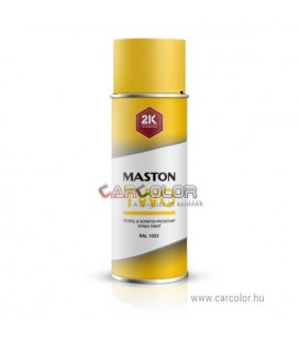 2K Sárga két-komponensű spray RAL1023 Traffic Yellow - Fényes (400ml)