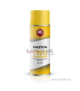 2K Sárga két-komponensű spray RAL1003 Signal Yellow - Fényes (400ml)