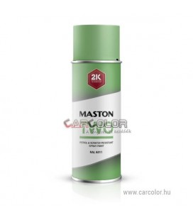 2K Levél Zöld két-komponensű spray RAL6002 Leaf Green - Fényes (400ml)