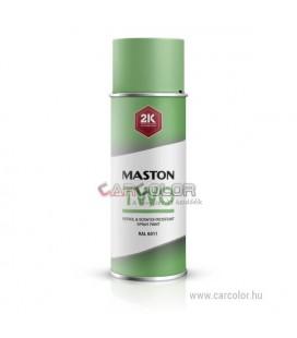 2K Zöld két-komponensű spray RAL6011 Reseda Green - Fényes (400ml)