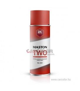 2K Piros két-komponensű spray RAL3000 Flame Red - Fényes (400ml)