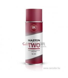 2K Piros két-komponensű spray RAL3020 Traffic Red - Fényes (400ml)