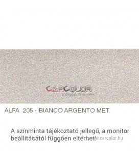 Alfa Romeo Metál Bázis Autófesték Színkód: 205A