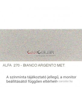 Alfa Romeo Metál Bázis Autófesték Színkód: 270