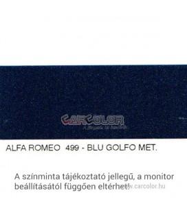 Alfa Romeo Metál Bázis Autófesték Színkód: 499A