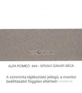 Alfa Romeo Metál Bázis Autófesték Színkód: 643