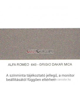 Alfa Romeo Metallic Base Color: 643
