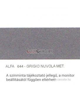 Alfa Romeo Metál Bázis Autófesték Színkód: 644