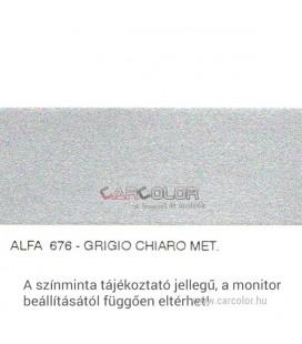 Alfa Romeo Metallic Base Color: 676