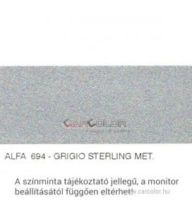 Alfa Romeo Metallic Base Color: 694
