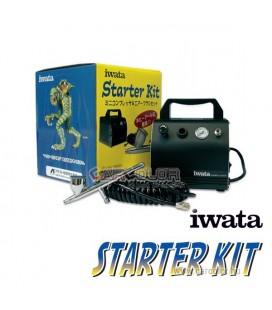 IWATA Starter Kit Airbrush Készlet - CRIS50BLKDE