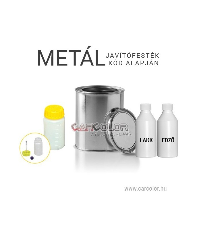 Metál bázis fényezés-javító autófesték stift Színkód Alapján - Metál színek d99e7cf634