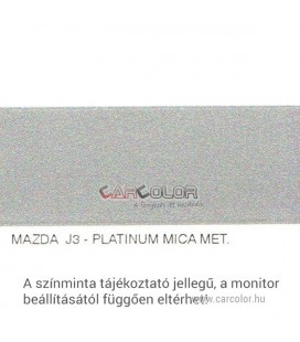 Mazda Metallic Base Color: J3