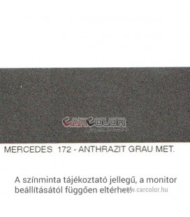 Mercedes Metallic Base Color: 172