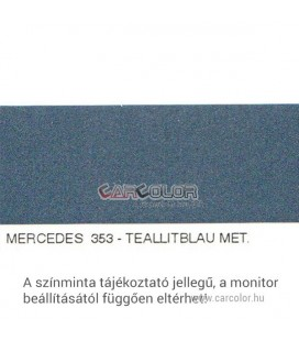 Mercedes Metál Bázis Autófesték Színkód: 353