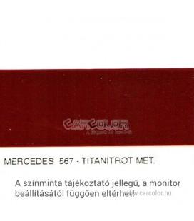 Mercedes Metál Bázis Autófesték Színkód: 567
