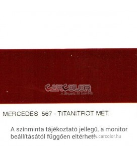 Mercedes Metallic Base Color: 567
