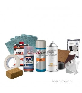Csináld Magad Autófényező Szett - Metál 2K Spray Lakkal - Horzsolás - Karcolás