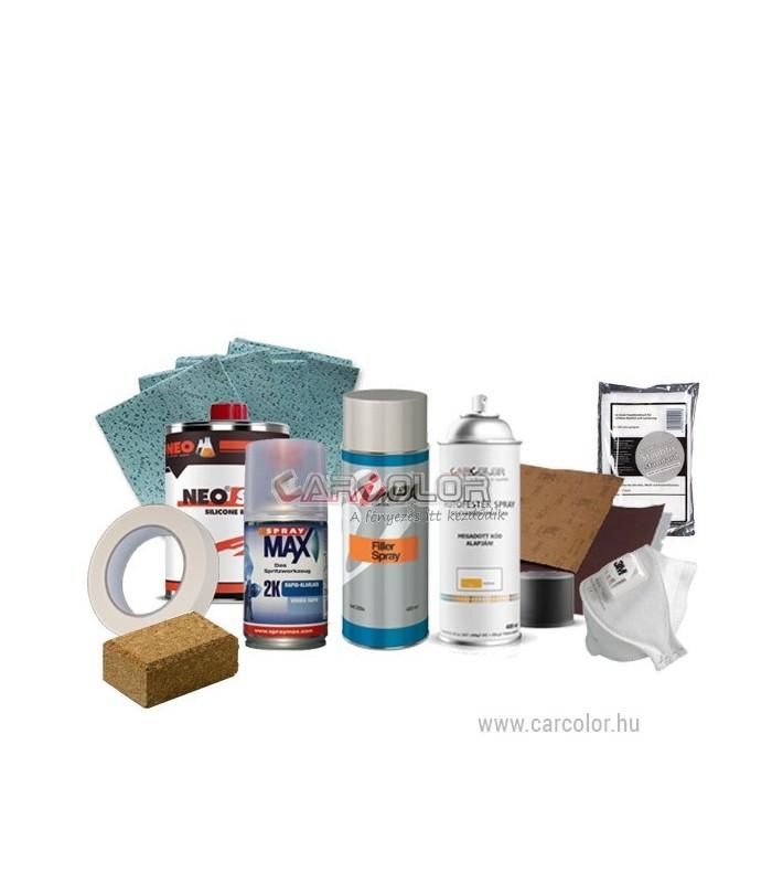 Csináld Magad Autófényező Szett - Metál 2K Spray Lakkal - Horzsolás -  Karcolás 5a243e6dd1