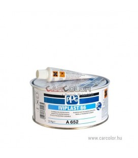 PPG Iviplast 66 is a fine, flexible 2 component polyester putty