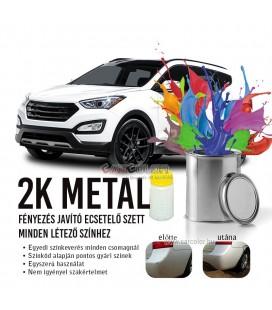 2K Fényezés javító autófesték stift Színkód Alapján - Metál színek