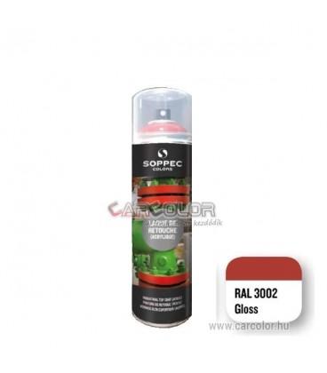 RAL 3002 Fényes Akril festék spray (400ml)