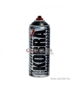 KOBRA Matt Fekete Akril festék spray (400ml)