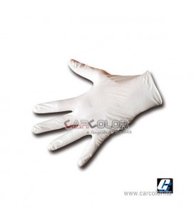 Corcos Latex Gloves Size:L (100pcs)