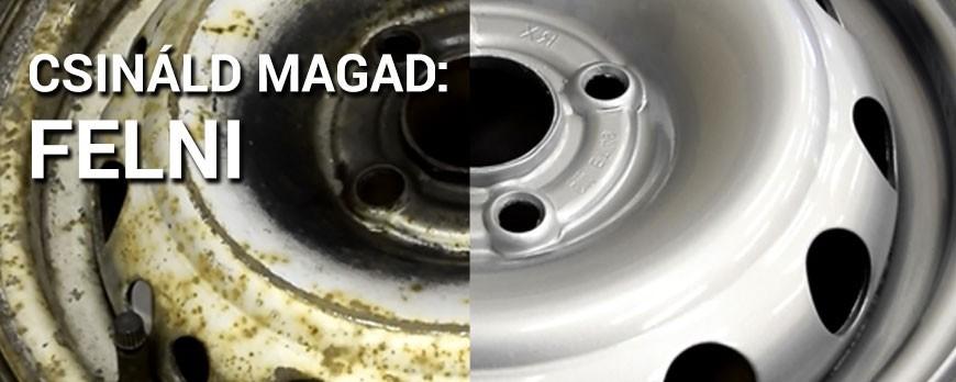 Csináld Magad Videó: Felni felújítás otthon spray termékekkel