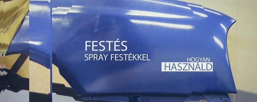 Csináld Magad Videó: Autófestés otthon spray termékekkel