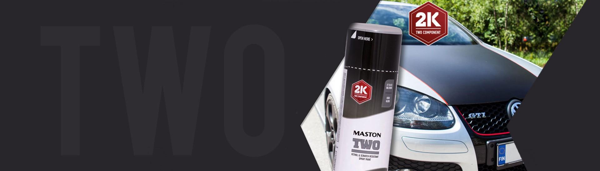 2K benzinálló lakk spray