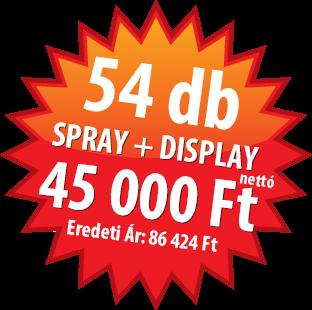 Akciós Autójavító spray termékek autójavító spray Autójavító spray festékek Akcios Spray Csomag