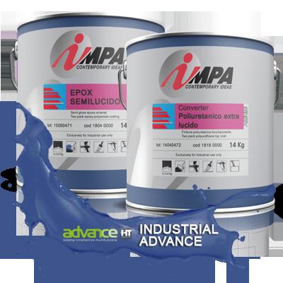 ipari festék Impa Ipari festékek, Javító spray és autófényezési segédanyag advance s1