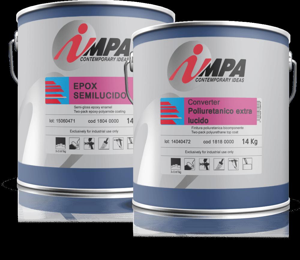 ipari festék Impa Ipari festékek, Javító spray és autófényezési segédanyag impa advance cans