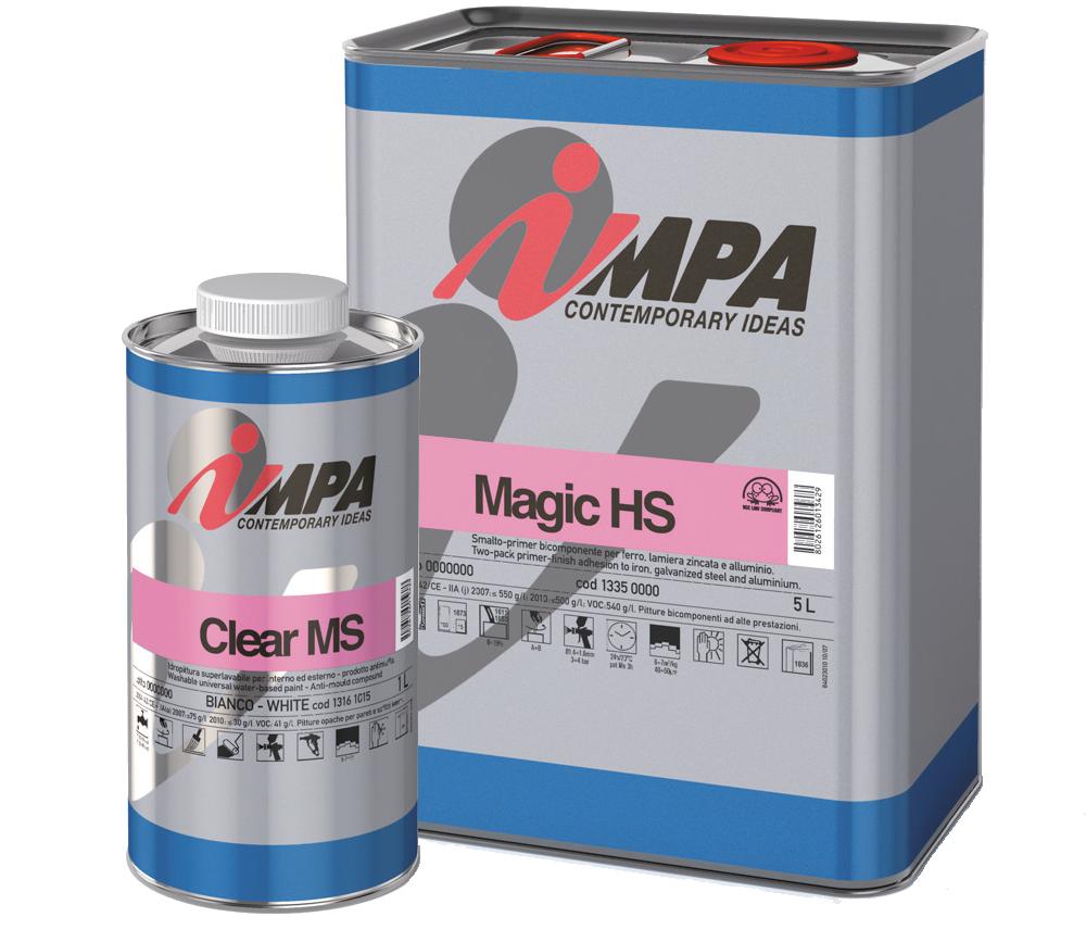 Ipari festék ipari festék Impa Ipari festékek, Javító spray és autófényezési segédanyag refinish n 2