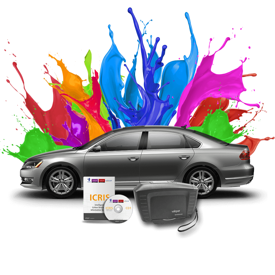 Színkeverő rendszer vízbázisú autófesték vízbázisú autófesték waterbase+ vízbázisú autófesték valspar spectro icris2