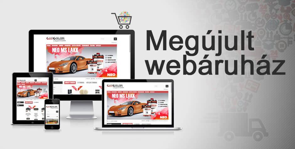 Új webShop