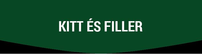 Kitt és Filler  DeBeer Segédanyagok Kitt Filler