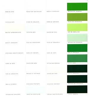 Autó színkártya színminta Autó színkód minta Autó Színminták COLOR00081