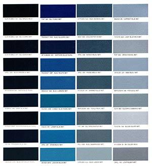 Autó színkártya színminta Autó színkód minta Autó Színminták COLOR0021