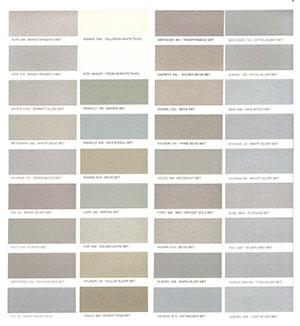Autó színkártya színminta Autó színkód minta Autó Színminták COLOR0032