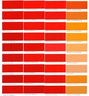 Autó színkártya színminta Autó színkód minta Autó Színminták Color 0003