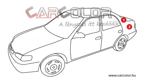 Alfa Romeo Színkód  Alfa Romeo Színkódok alfa romeo szinkod