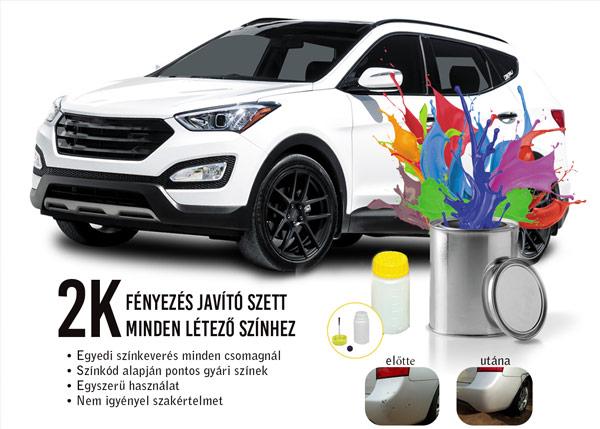 Autó javító festék stift  Hyundai Színkódok auto jav  t   fest  k stift 02