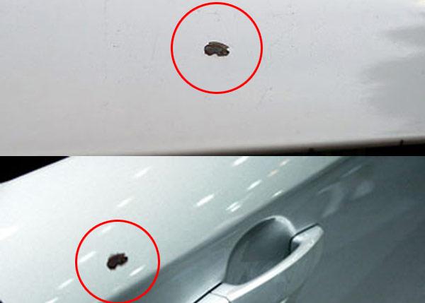 2komponensű autó javító spray